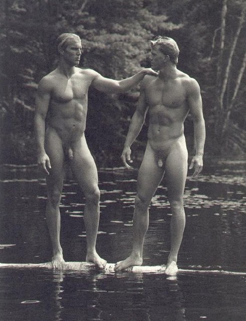 bruce weber nude bear pond