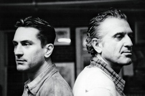 de niro and his father