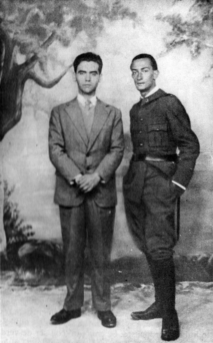 relationship between salvador dali and federico garcia lorca