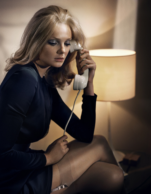 Eniko Mihalik for Vogue Spain (September 2012) by Vincent Peters