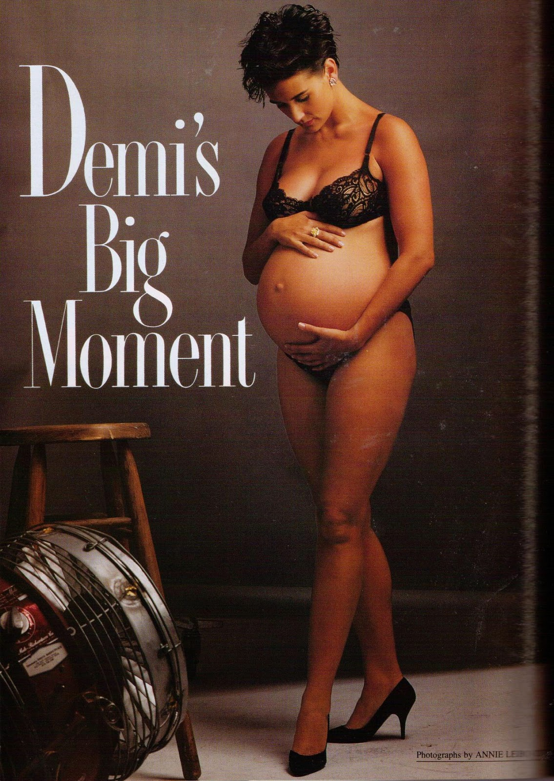 Demi Moore Pregnant Photos 29