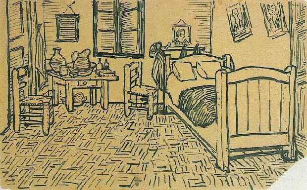 Van gogh bedroom in arles analysis